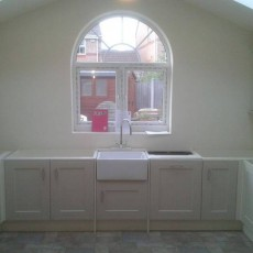 Plastering, Window and Plastering